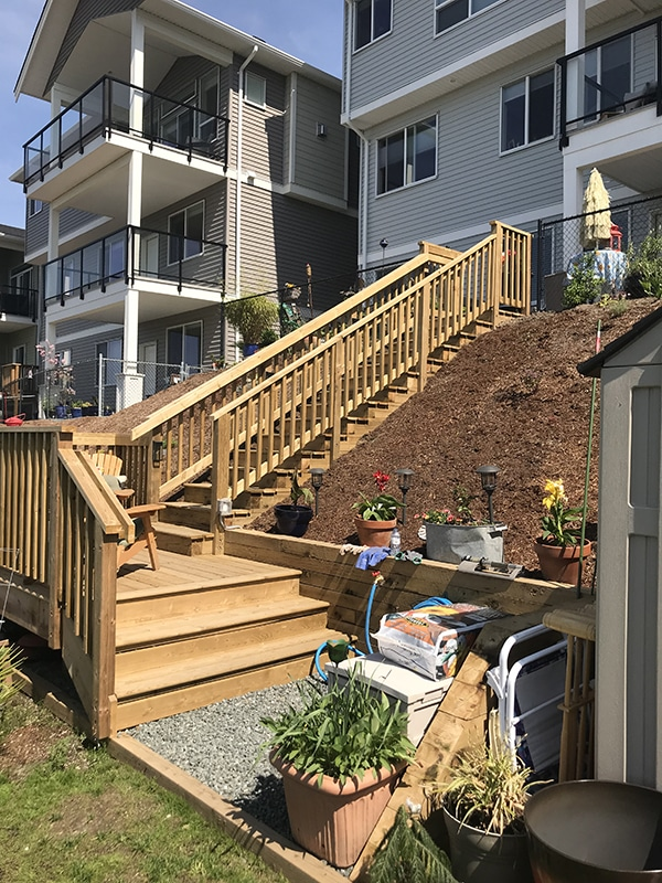 deck extension langley
